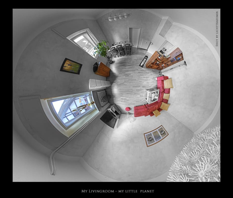 My living room is my little planet